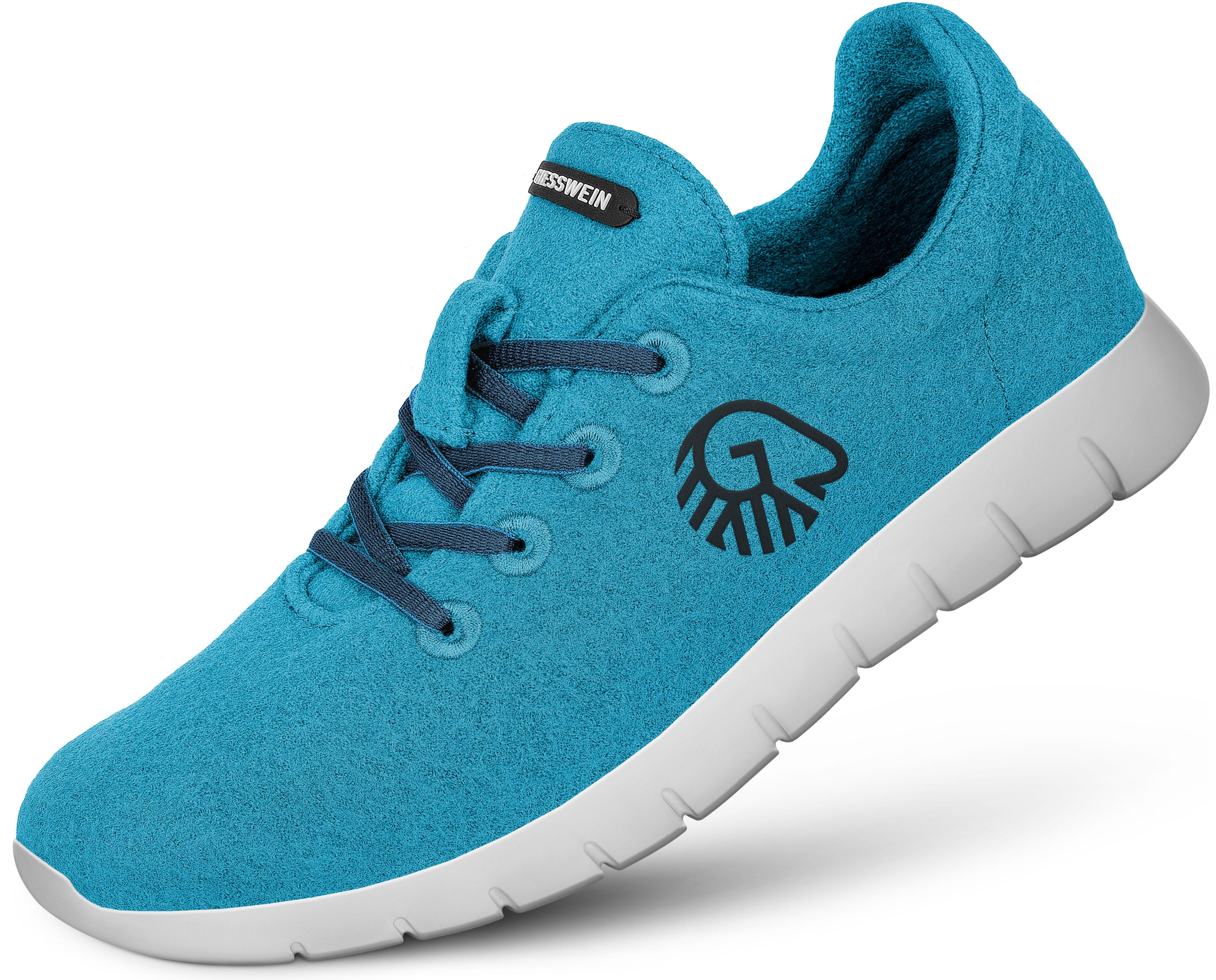 40509d8ec686 Giesswein Merino Wool - Chaussures Femme - turquoise sur CAMPZ !